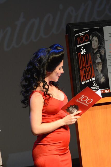 Ariadne Díaz mostró su pancita de embarazo en las 100 representaciones d...