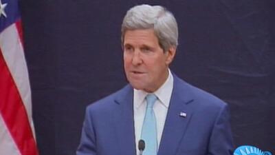John Kerry viaja a Irak a enfrentar difícil situación tras arrollador av...