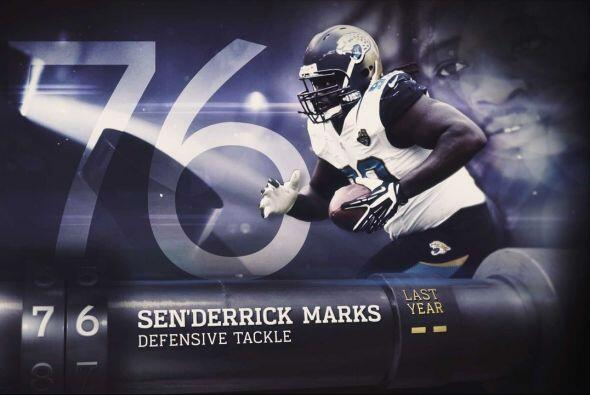 #76 Sen'Derrick Marks.