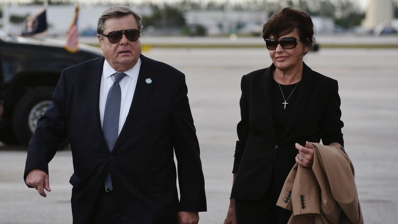 ¿Quiénes son los padres de Melania Trump?, los nuevos visitantes de la C...