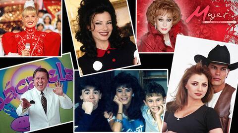 Programas de TV 1990 - 1995