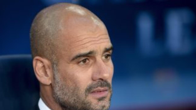 Rumores sitúan a Guardiola en el Manchester City.