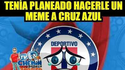 Cruz Azul es un desastre, Pumas y Chivas empatan, y los memes lo saben