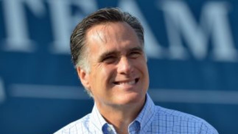 El aspirante republicano a la presidencia de EEUU, Mitt Romney.