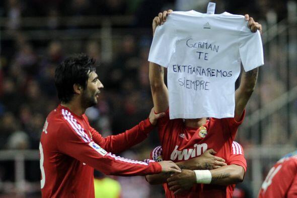El argentino se lo dedicó a un familiar que falleció hace muy poco.