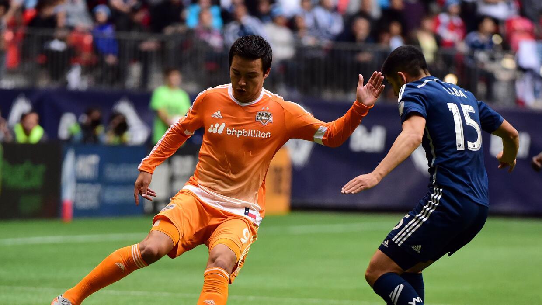 Cubo Torres y la obligación de marcar goles para Houston Dynamo.