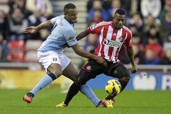 Al mismo tiempo, el sublíder Manchester City visitó la casa del Sunderland.