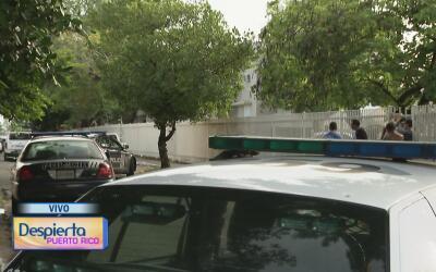 Investigan un atrincheramiento en el barrio Amelia en Guaynabo