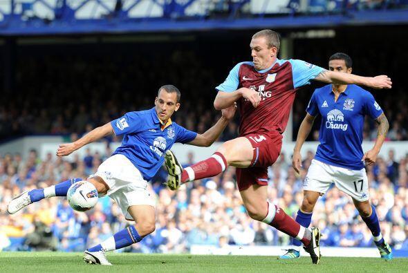 Everton y Aston Villa repartieron puntos. El encuentro finalizó e...