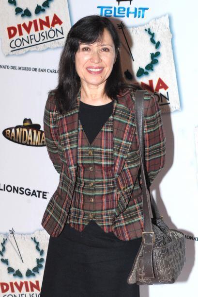 María Rojo también tenía ya toda una trayectoria en cine, teatro y telev...