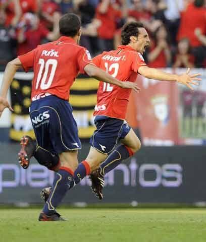 Osasuna no quiere mirar hacia abajoEl Osasuna de Pamplona es otro equipo...