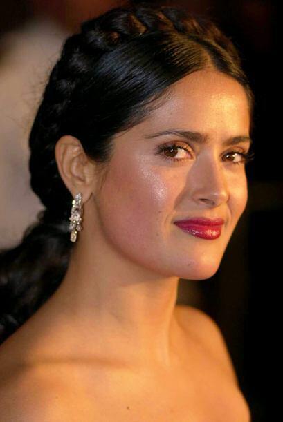 "Salma Hayek le dio vida a la famosa pintora mexicana en la cinta ""Frida""..."