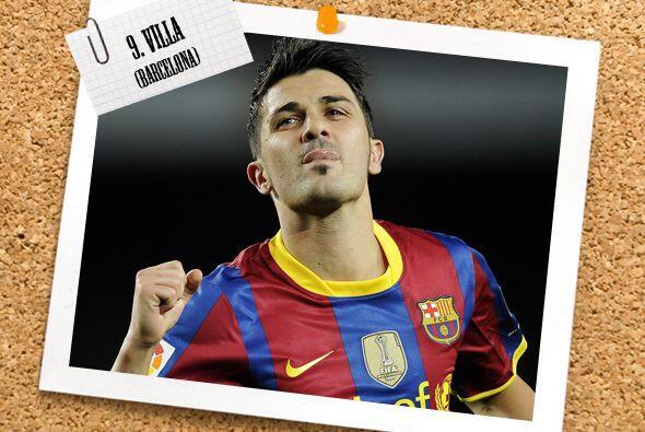 Ya en la delantera, David Villa se creció ante las crítica...