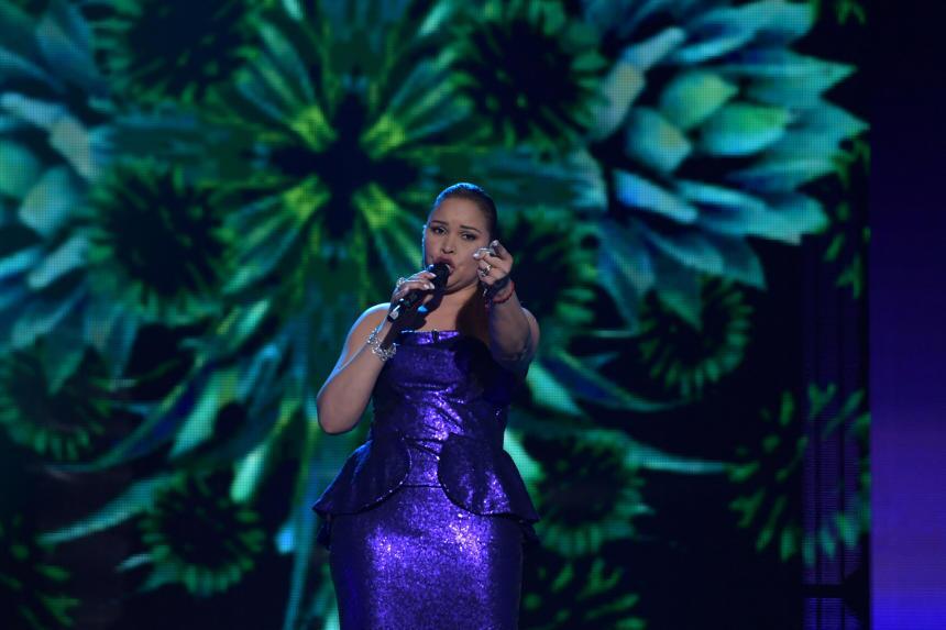 Para la semifinal, Yohanny Rodríguez pudo cantar 'Pa' todo el añ...
