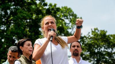 Jorge Castañeda: La esposa de Leopoldo López en México GettyImages-Tinto...