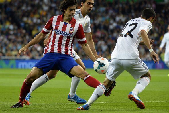 El Atletico de Madrid manejó bien el partido y creo varias ocasiones de...