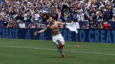 'Cañonazos' y pinceldas, así fueron los mejores cinco goles de Zlatan en la MLS en 2018