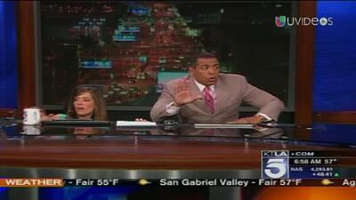 En video: temblor los sorprendió en medio del noticiero