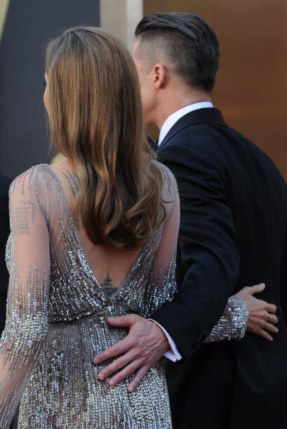 En varias ocasiones y en numerosas alfombras rojas, Brad Pitt se aseguró...