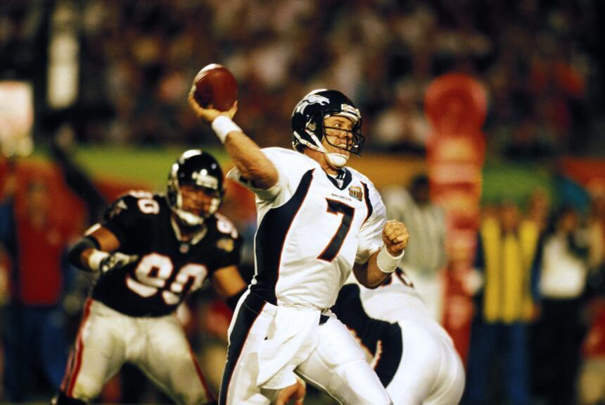 Recuerdo Super Bowl XXXIII: Denver Broncos - Atlanta Falcons