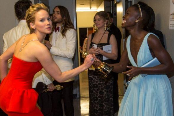 Catfight!!!, Jennifer Lawrence llegó a reclamar lo que ella cree que es...