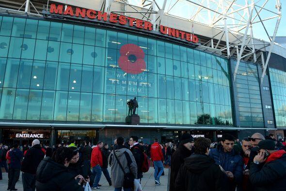 El estadio Old Trafford recibía el duelo más esperado de l...