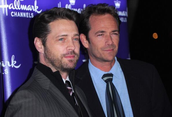 Jason Priestley y Luke Perry