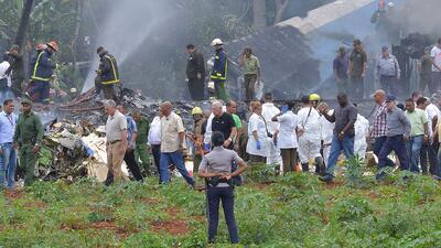 El historial en Ecuador y México del avión comercial que se estrelló tras despegar en Cuba