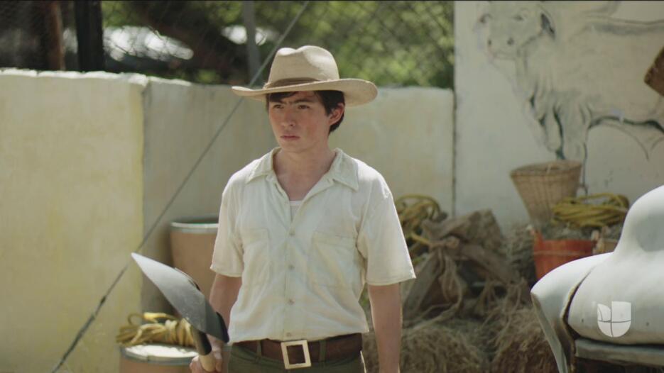 Luis Curiel en la serie El Chapo