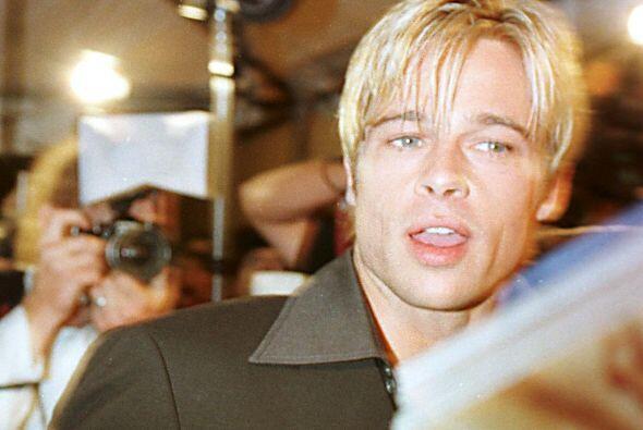 """En 1997 se pintó el pelo de rubio para filmar """"Seven Years in Tibet"""", po..."""