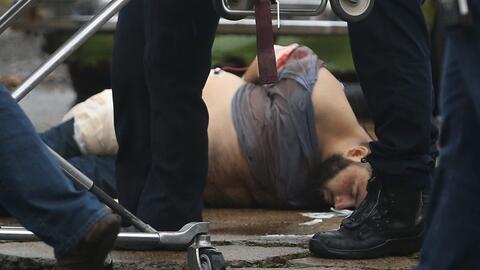 Ahmad Khan Rahami es arrestado tras un tiroteo en el que resultó...