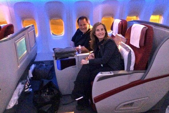 Volaron muy cómodos. ¿Con qué otro viaje nos sorprenderá Raúl?