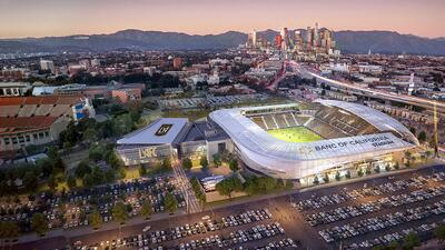 Los Angeles FC presentó nuevas imágenes del estadio que inaugurará en la temporada 2018