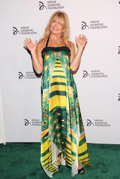 Goldie Hawn siempre brillo por su belleza y simpatía.