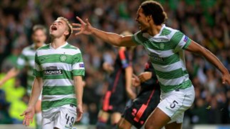 Los escoceses sumaron sus primeros puntos en esta 'Champions'.