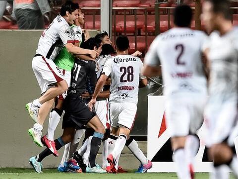 Los Rojingros del Atlas sorpendieron en la Copa Libertadores al derrotar...