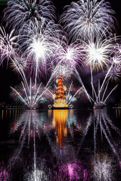 Así es como celebra Brasil la época navideña.