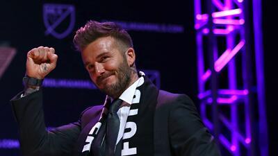 """El equipo de Beckham en Miami no especulará: """"Nadie quiere ver a un equipo defender; quieren ver goles"""""""