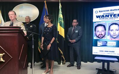 El sheriff Jim McDonnell presentó nuevas declaraciones sobre el a...