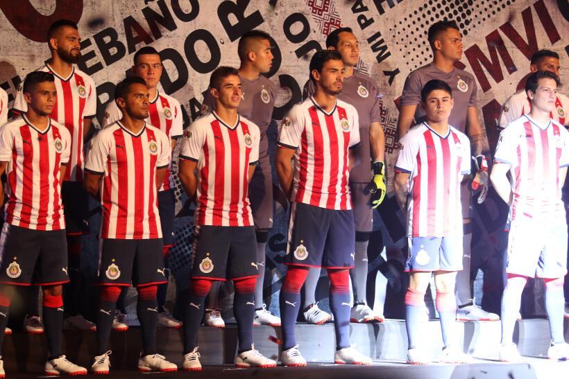 Jerseys Chivas & Cruz Azul