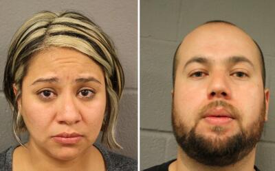 Brenda y Antonio Hurtado fueron arrestados bajo cargos de poner en pelig...