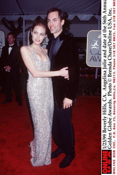 A pesar de poseer gran belleza, el sentido de la moda de Jolie era p&eac...