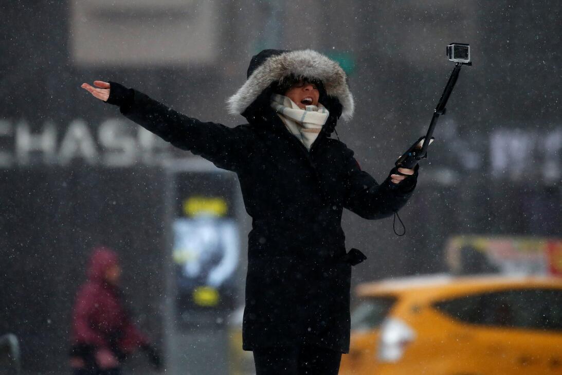 Snow Storm New York