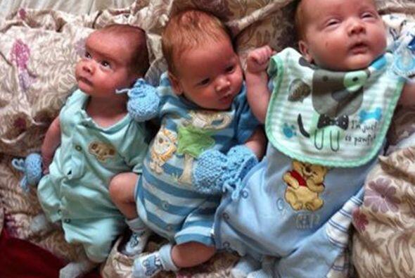 Christie fue madre desde muy  joven, pues antes de dar a luz a sus tres...