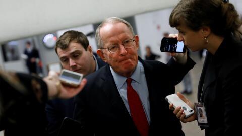 El senador republicanos por Tennessee, Lamar Alexander.