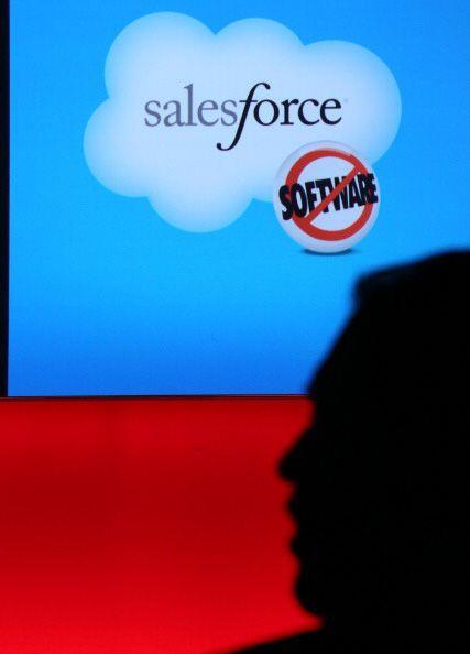 9. SALESFORCE. La empresa especializada en computación en la nube obtuvo...