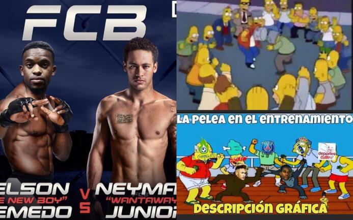 Memes de la pelea entre Neymar y Semedo en entrenamiento del Barcelona M...
