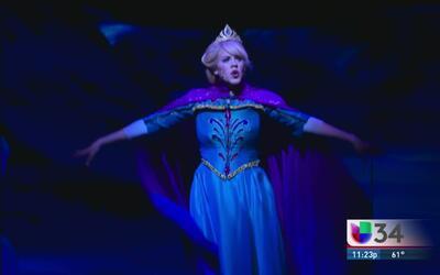 ¡Así fue el estreno del musical de Frozen!