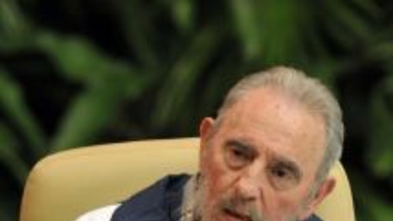 El líder cubano Fidel Castro.