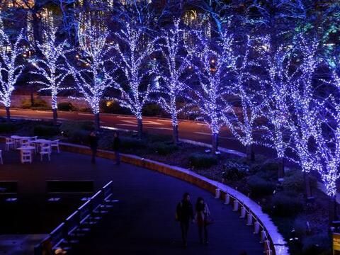 El ambiente navideño se respira en la ciudad de Tokio, Jap&oacute...